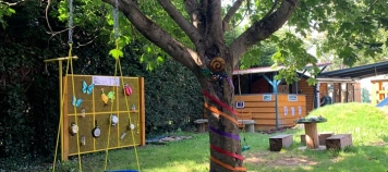 Muck Angels Tree Swing and other activities